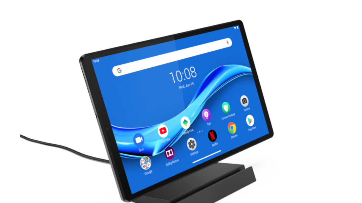 Lenovo launches another cheap tablet that can be used as smart display