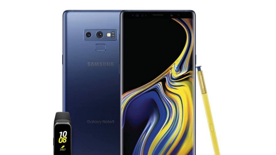 Samsung has the Galaxy Note 9 on sale at a massive discount with a Galaxy Fit also included