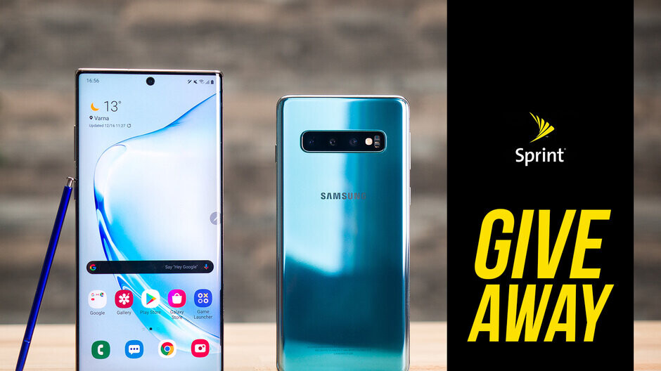 Galaxy S10 and Galaxy Note 10 giveaway winners reveal!