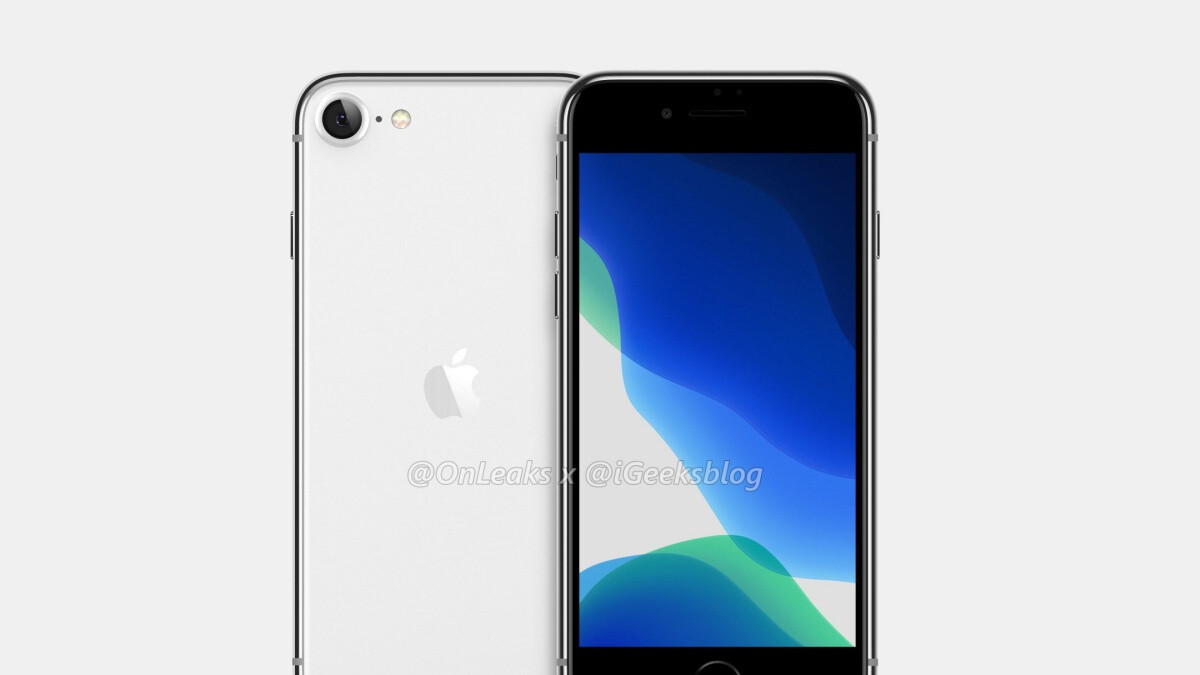 Apple's iPhone 9 leaks in all its iPhone 8-inspired glory