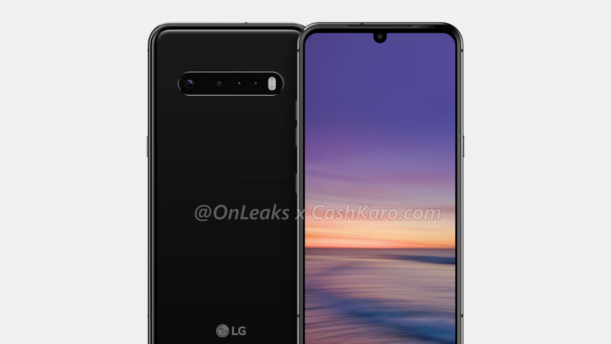 The LG V60 and G9 ThinQ might be different versions of the same phone