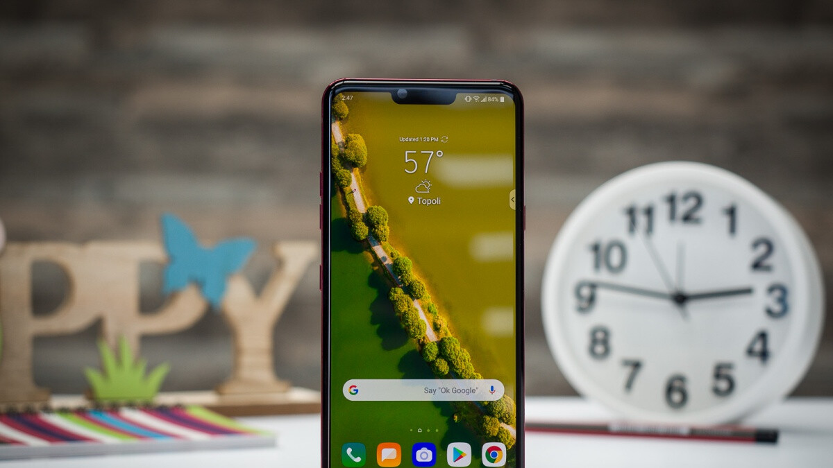 LG G8 ThinQ reportedly receives Android 10 update on its first US carrier