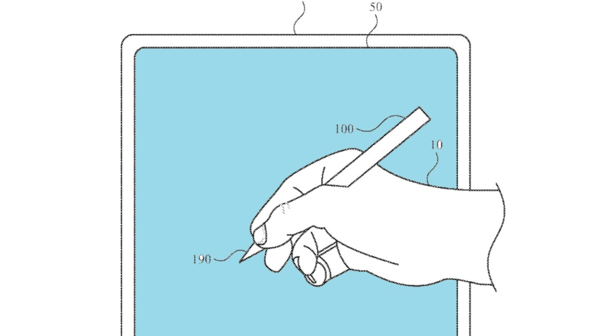 Patent for Apple Pencil includes an embedded camera, biometric sensor, mic, and gesture controls