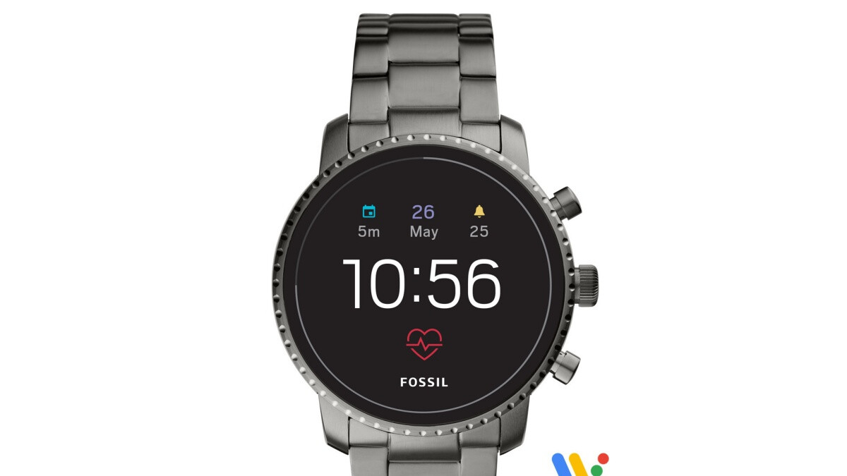 Here's how you can get a refurbished Fossil Gen 4 smartwatch for less than 75 bucks
