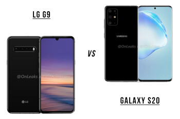 LG G9 vs Galaxy S20 specs, prices and release preview