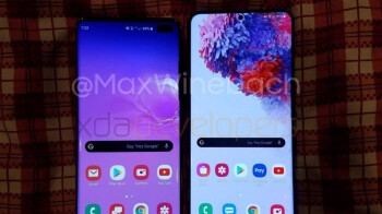 Hands-on video and new pic reveal the full Galaxy S20+ story