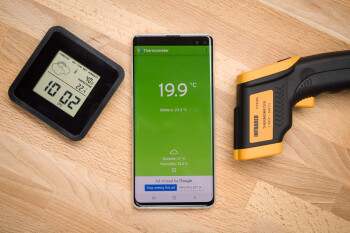Can a smartphone measure temperature like a thermometer?