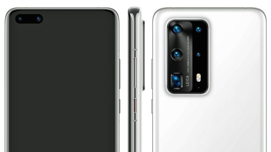 Premium Huawei P40 Pro variant leaks with five cameras, ceramic back