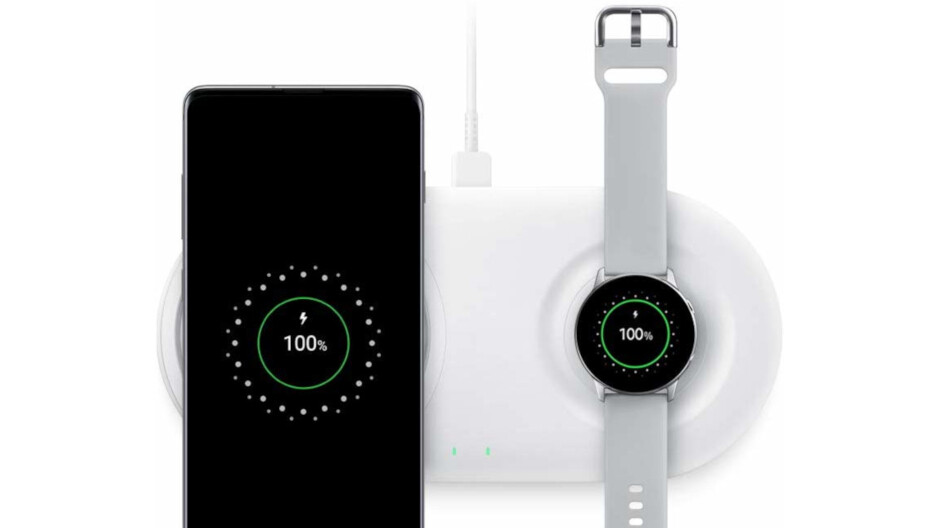 Samsung Wireless Charger Duo Pad is 40% off on Amazon