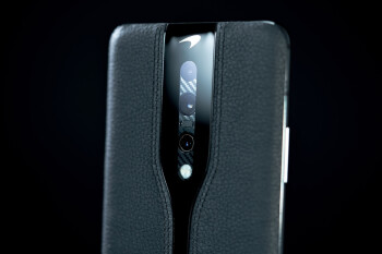 OnePlus' invisible camera phone concept looks marvelous in black leather