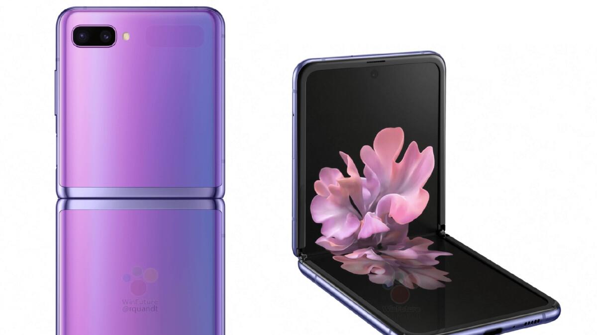 Fresh Galaxy Z Flip leak reveals gorgeous design, spec sheet
