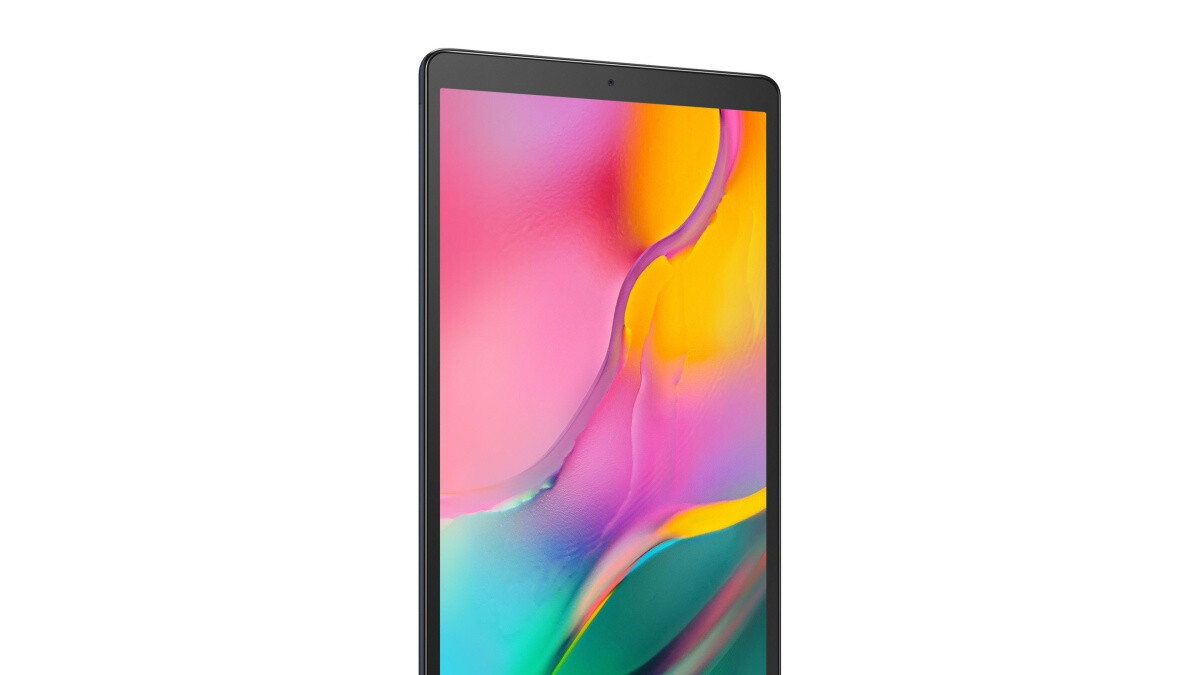 Samsung's Galaxy Tab A 10.1 (2019) is on sale at a big discount with a 1-year warranty