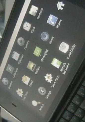 Android 2.2 installed on Nokia N900 to prove a point