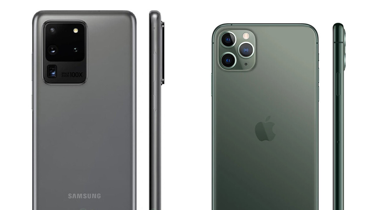 Galaxy S20 multi-camera video recording takes a page off the iPhone 11 Pro book