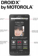 Motorola and Verizon put full page ad in NY Times for DROID X: Hold it any way you want