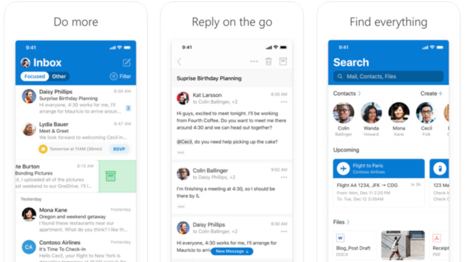 Outlook users on iPad are getting an important new feature