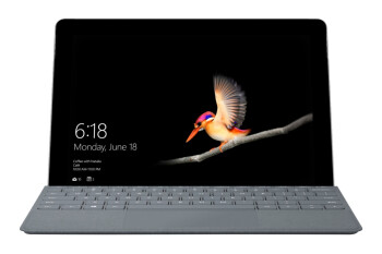 You can get a free keyboard with Microsoft's Surface Go tablet at Best Buy