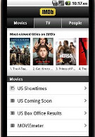 Lights, Cameras, Action; IMDb app now available in Android Market