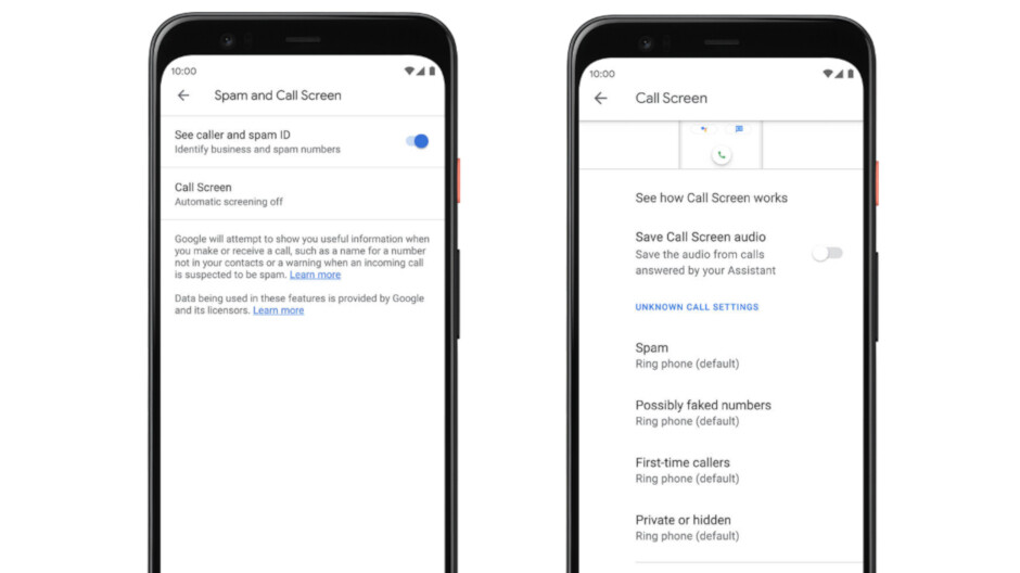 Older Pixel phones now getting automatic Call Screen feature