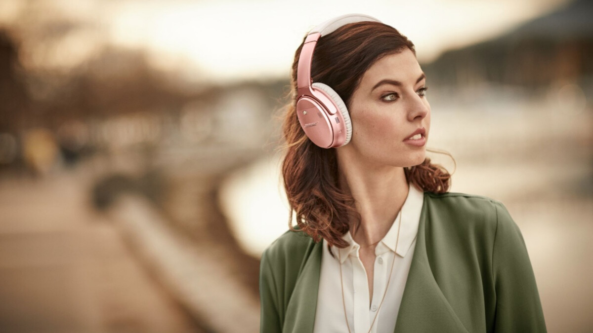 Amazon offers killer Valentine's Day deal on the most popular Bose wireless headphones in rose gold