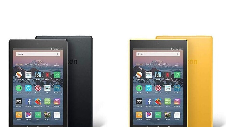 Amazon's Fire HD 8 and Fire HD 10 tablets are on sale for Valentine's Day