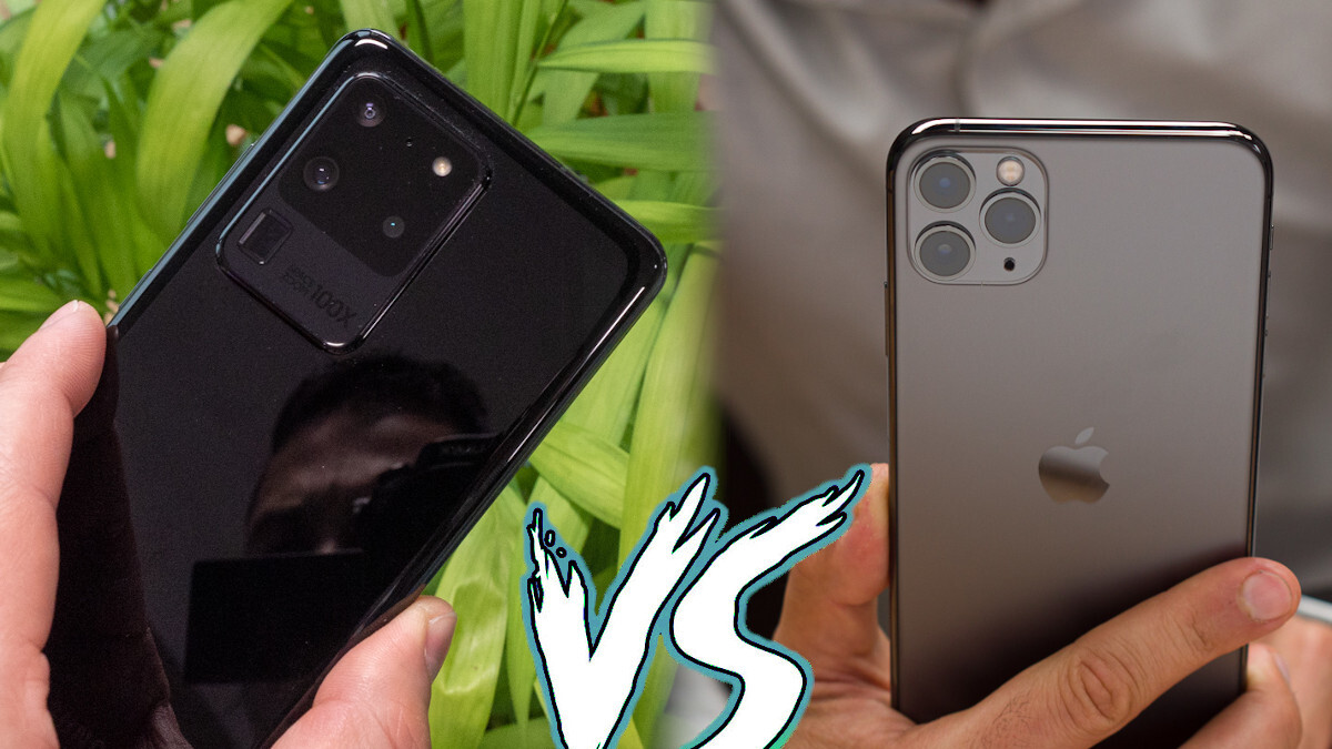 Samsung Galaxy S20 Ultra vs Apple iPhone 11 Pro Max: specs and size comparison