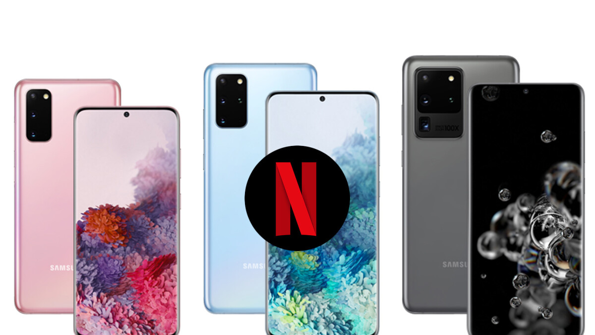 Netflix partners with Samsung on exclusive Galaxy S20 series features