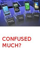 US carrier versions of the Samsung Galaxy S explained