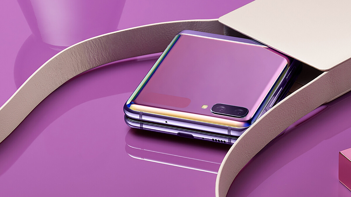 The Z Flip is marketed as a girly, Valentine's Day phone, do you agree with Samsung?