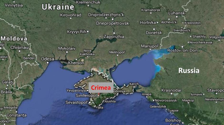 Google Maps könnte politische Grenzen basierend auf der geografischen Lage anzeigen