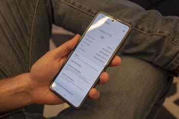 Galaxy Z Flip software update: Single Take photo mode