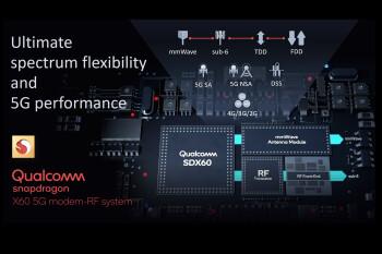 Qualcomm announces the Snapdragon X60, its next-gen 5G modem