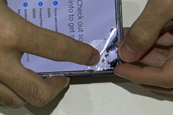 Here's why Galaxy Z Flip's folding glass display cover is still protected by a plastic film