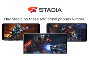 Google Stadia now supports Samsung, Razer and Asus smartphones