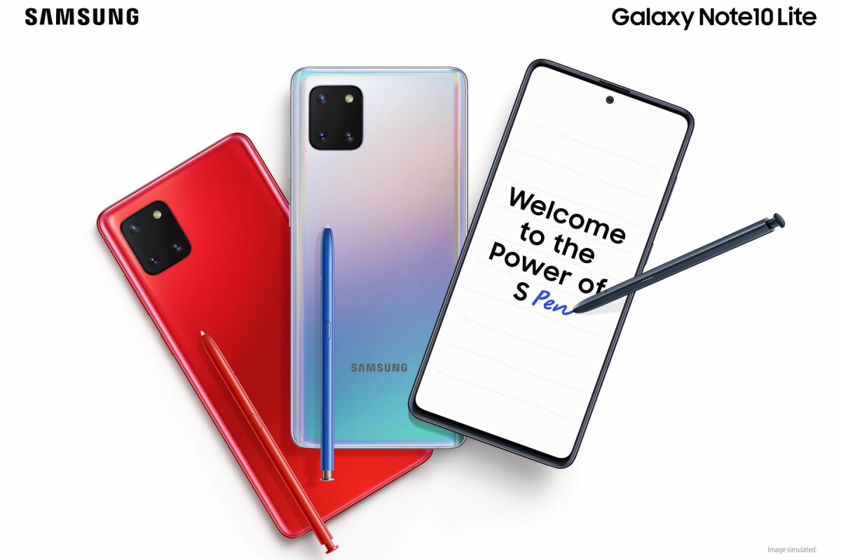 The New Galaxy Note 10 Lite Is Already Discounted In The Uk Phonearena