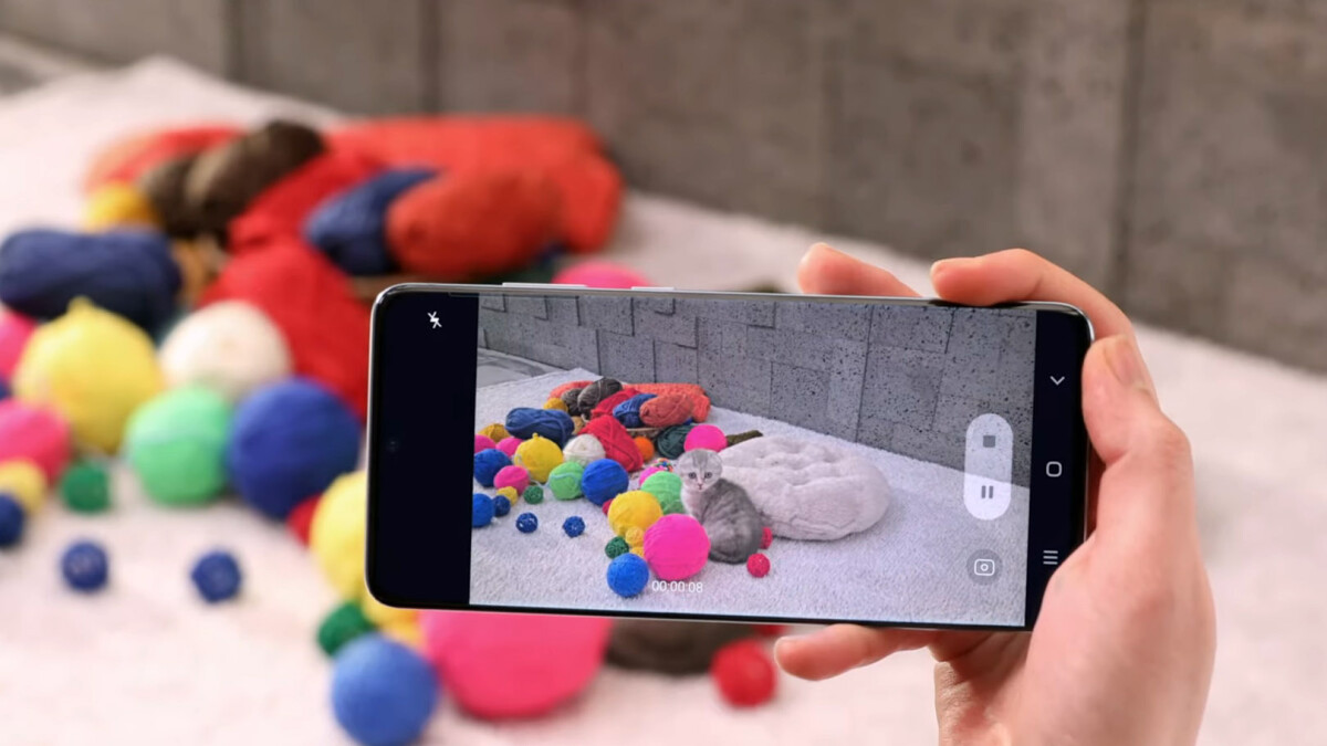 The Samsung Galaxy S20 8K video recording file size is not for the faint of storage