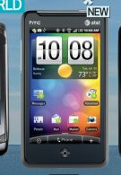 Best Buy Mobile's Buyer's Guide showcases a 4G enabled HTC Aria