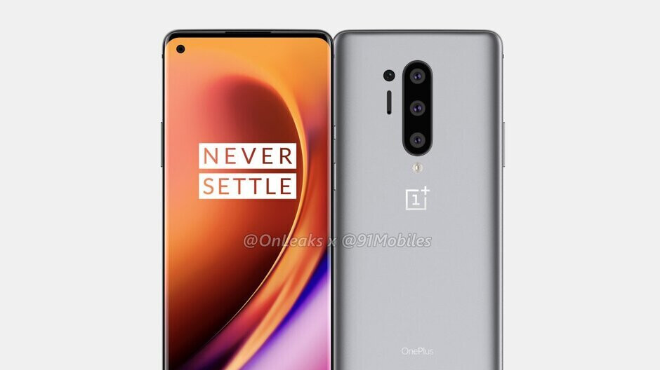Leaked live photo shows the OnePlus 8 Pro's back panel (Nope, they're fakes)