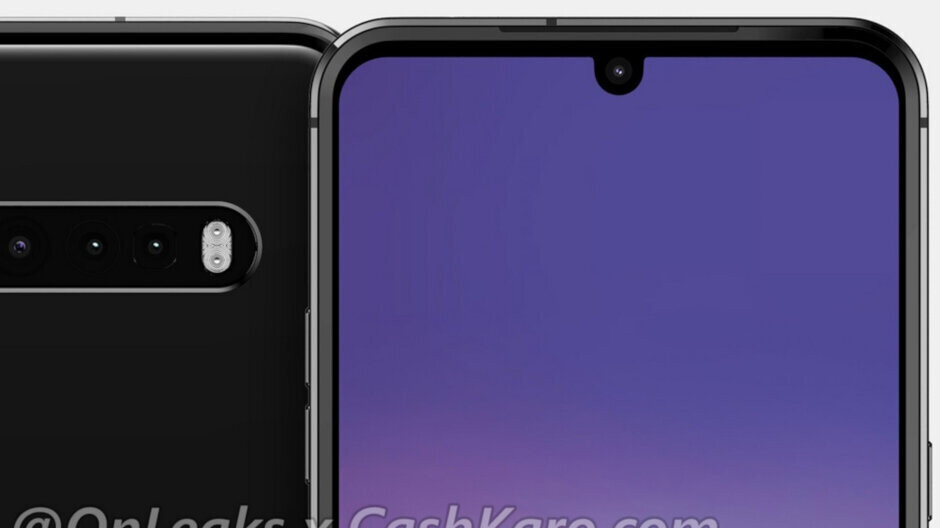 LG V60 leaks in the flesh and what is up with those cameras?