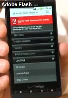 Motorola DROID X on video with Flash 10.1