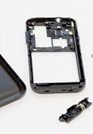 Korea's variant of the Samsung Galaxy S is dissected into pieces