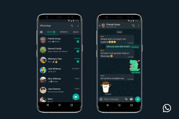 Dark mode now rolling out to WhatsApp on Android and iOS