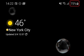 How to display the Samsung Galaxy S20, Plus and Ultra battery percentage number