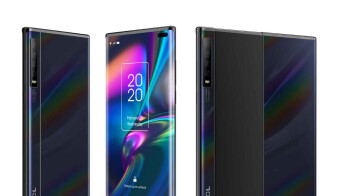 TCL unveils world's first smartphone with 'rollable extendable' display