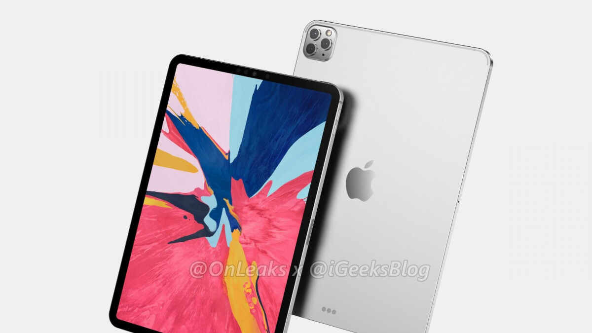 Big 2020 iPad Pro camera upgrade teased by reliable Apple tipster