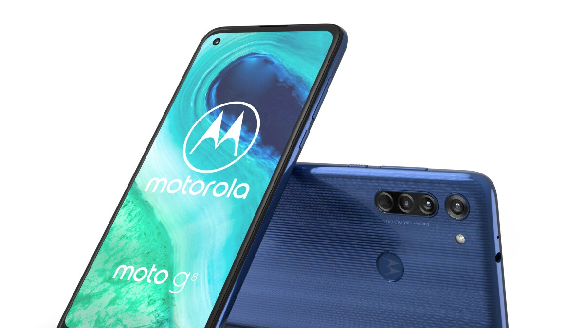 The 'regular' Moto G8 is here at last with a sleek design, large battery, and triple cameras