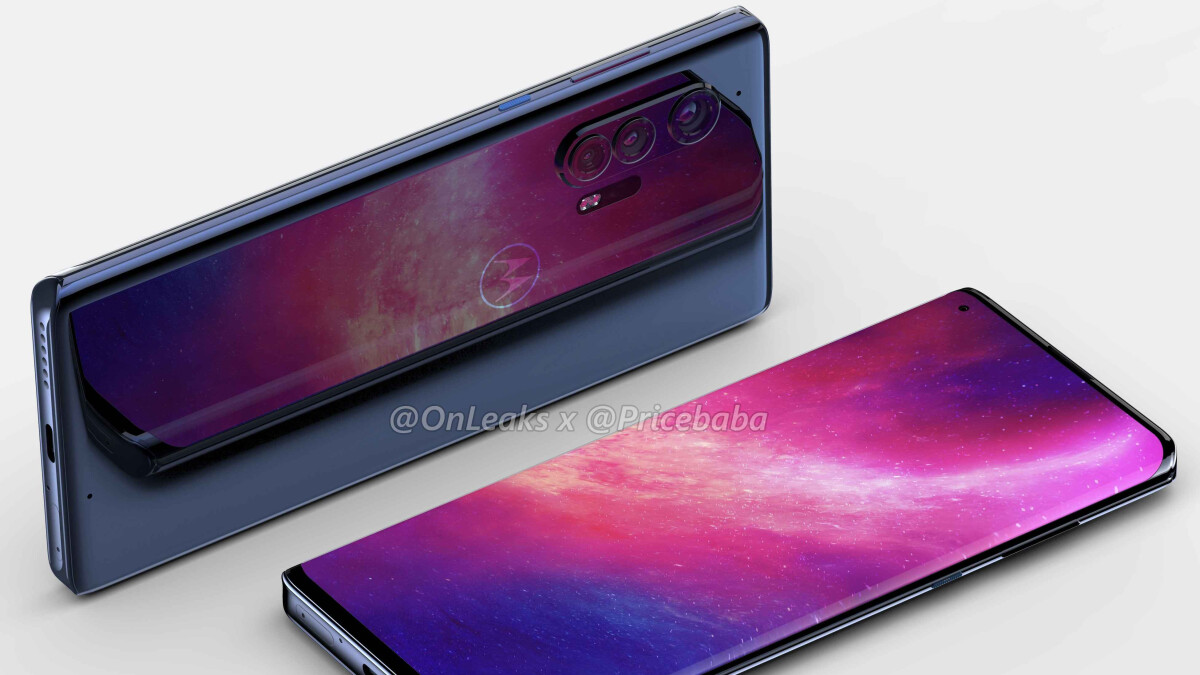 The flagship Motorola Edge+ 5G looks fantastic in these leaked renders