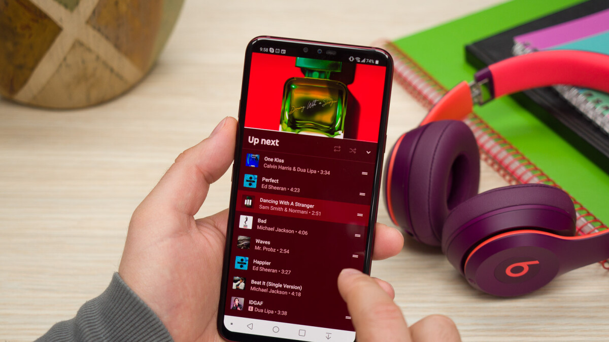 YouTube Music now gets featured alongside Spotify and Google Play Music in search results