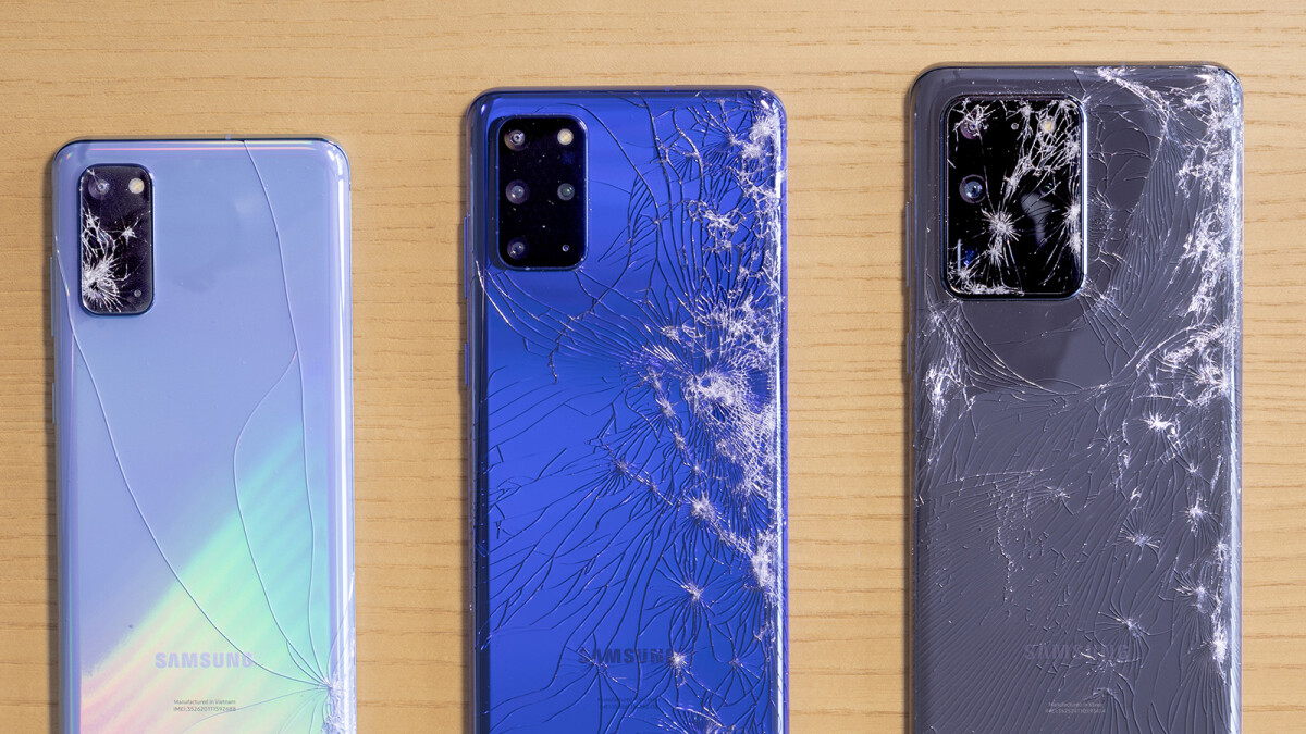 This Samsung Galaxy S20 vs S20+ vs Ultra drop test breakability score will surprise you