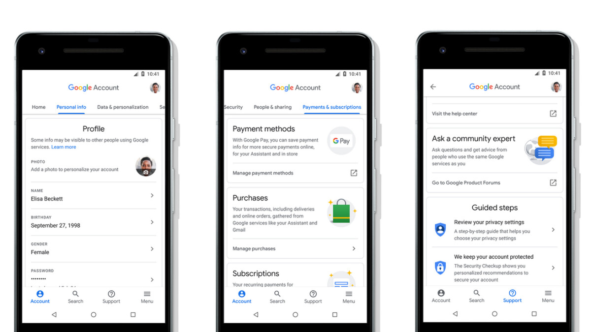 Update allows enrolling Google security keys on more devices